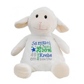 Schaf - Stofftier Geburtsgeschenk