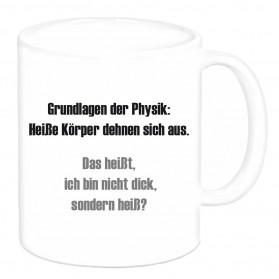 """Tasse """"Grundlagen der Physik..."""""""