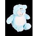 Bär hellblau - Stofftier