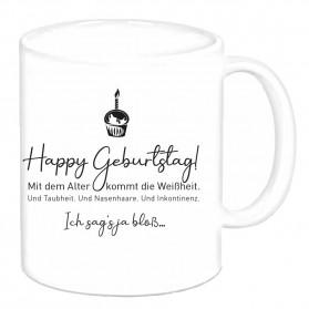 """Tasse """"Happy Geburtstag"""""""