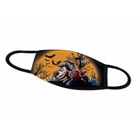 """Kugelross Alltagsmaske """"Halloween"""""""