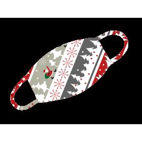 """Alltagsmaske Weihnachten """"Weihnachtsmotiv Bunt"""""""