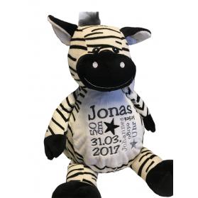 Zebra- Stofftier