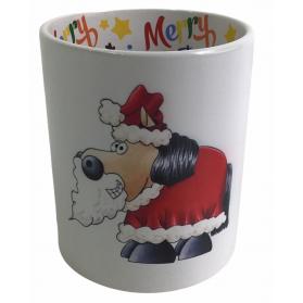 """Motiv-Tasse Kugelrösser """"Nikolaus/Weihnachtsmann"""""""