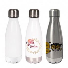 Sublistar® Edelstahl-Thermoflasche verschiedene Größen doppelwandig mit Schraubverschluss