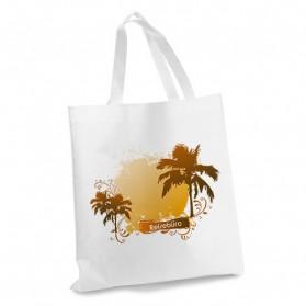 Sublistar® Einkaufstasche weiß mit Henkel