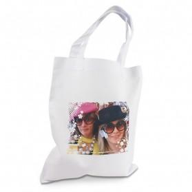 Sublistar® Einkaufstasche weiß mit Henkel verschiedene Größen