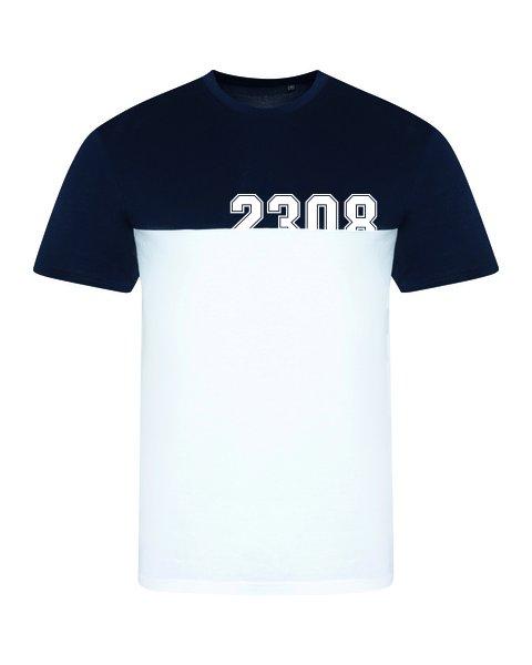 T-shirt mehrfarbig blau...