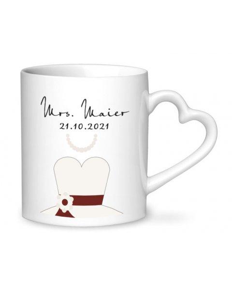 Hochzeitstassen Mr. und Mrs.